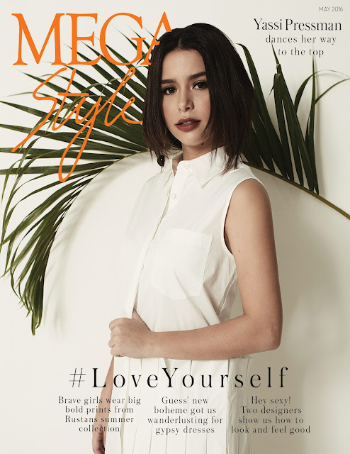 Yassi Pressman MEGAstyle May 2016 Cover