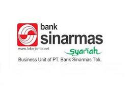 Lowongan Kerja Jambi Bank Sinarmas Syariah Desember 2019