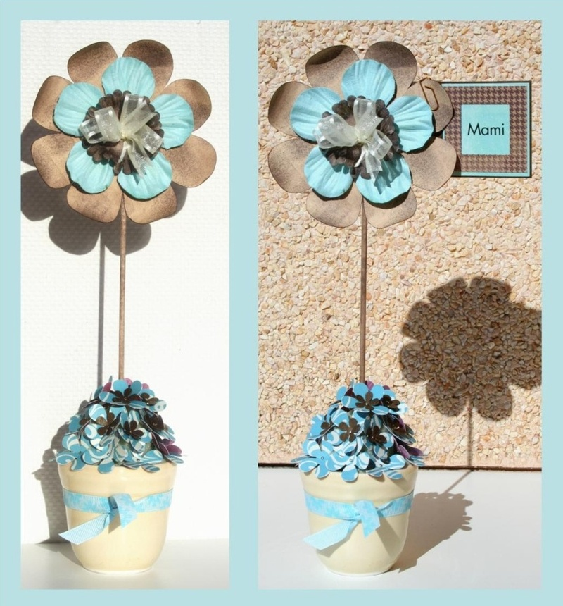 So glittering flores de papel - Manualidades faciles decoracion ...