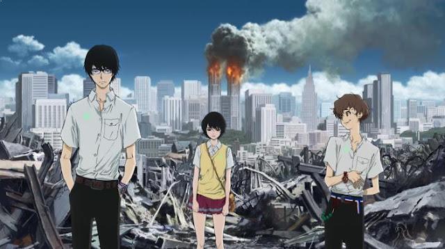 Anime dengan Karakter Utama Cool Zankyou no Terror