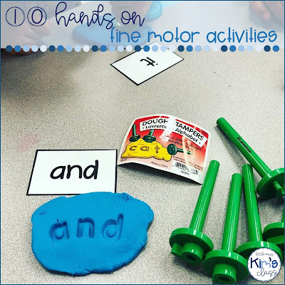 Fine Motor Activity Ideas for Special Education