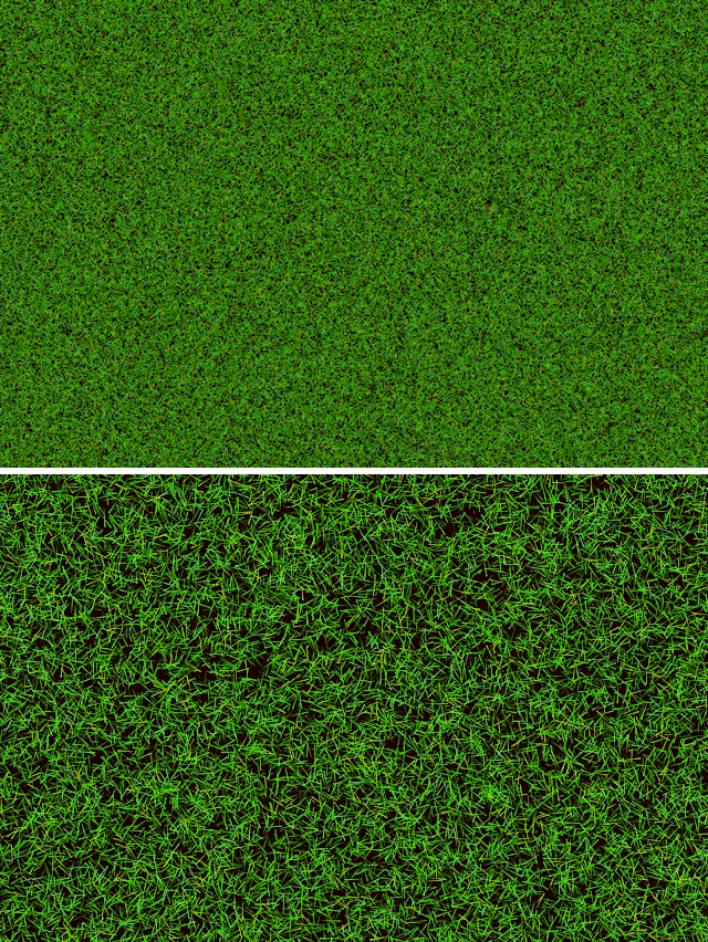 Seamless short green grass texture