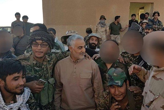 استدعاهم سليماني .. أحد أكبر الميليشيات الشيعية بسوريا تغادرها نحو إيران لمواجهة أمريكا