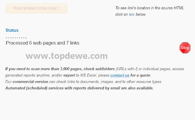 Cara menghapus broken link di komentar blog