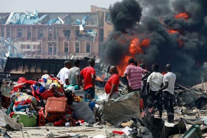 Lagos pipeline blast kills 15, destroys several buildings - Nigerian officials