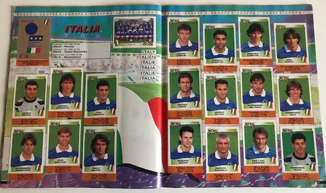 Figurine Italia Euro 96