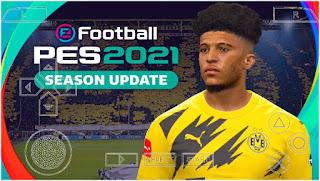 Download PES 2021 PPSSPP Chelito BVB Edition Android Best Graphics Real HD Face & Update Full Transfer