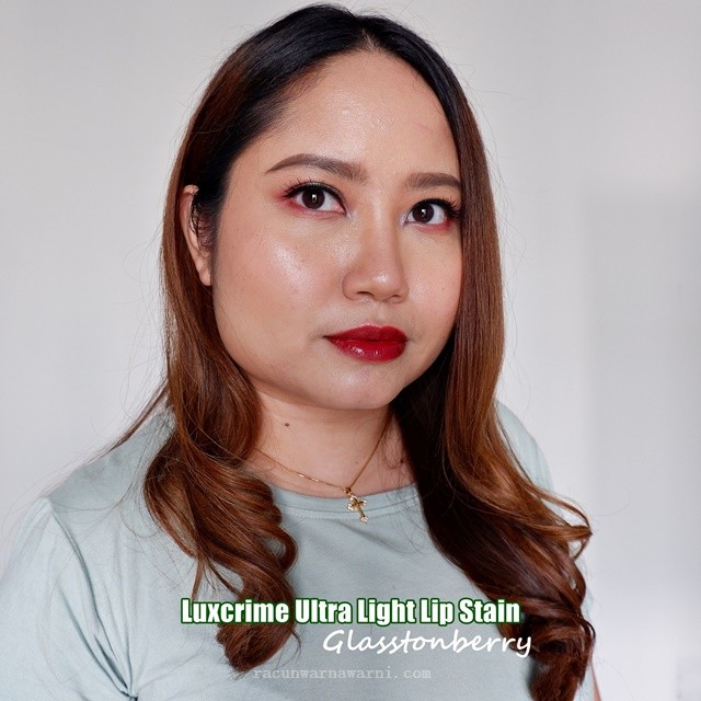 Swatch Luxcrime Ultra Light Lip Stain Glasstonberry