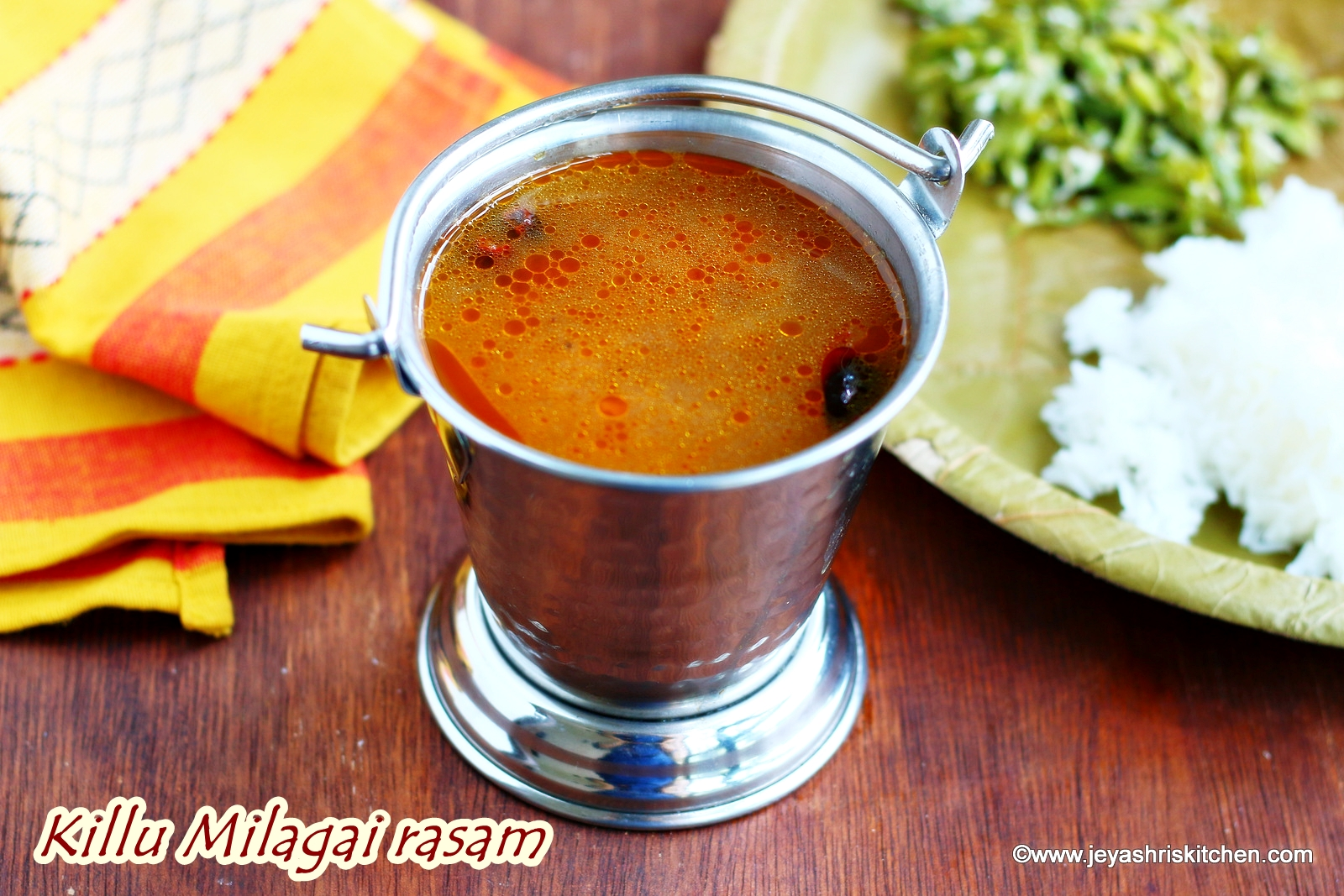 Jeyashri's Kitchen - A Vegetarian Food Blog with detailed