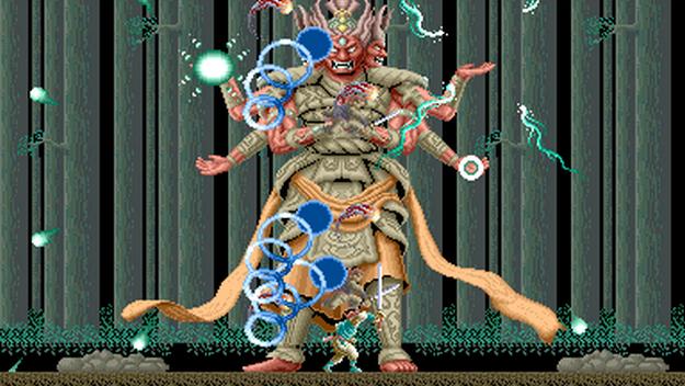 Ninja Spirit - retro ninja games