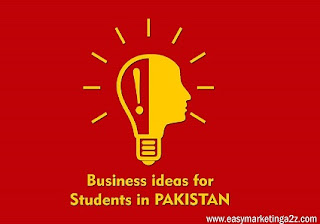 business ideas for students Pakistan