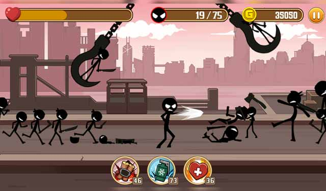 Stickman Fight Game Android Ringan