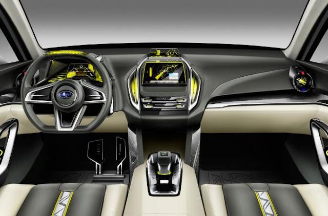 2017 Subaru VIZIV-7 SUV Interior