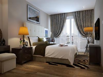 nội thất phòng ngủ chung cư mini chùa láng