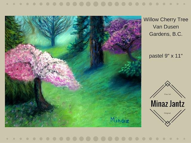 Willow Cherry Tree by Minaz Jantz