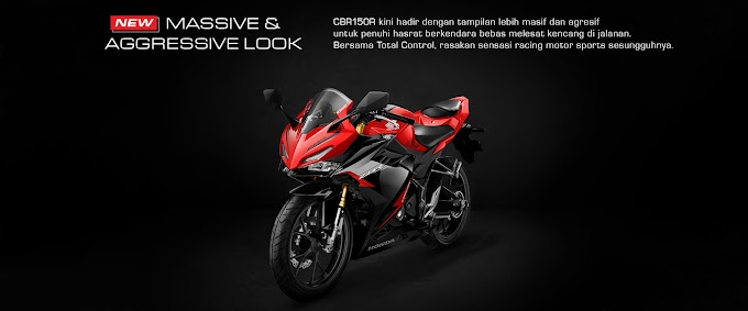 CBR150R MY2021 Resmi Launching Usung Total Control