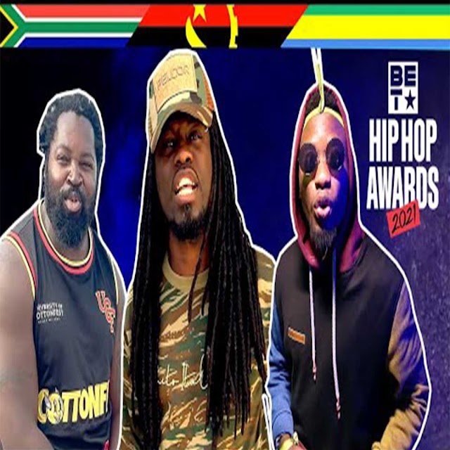 Prodigio x Big Zulu x Rodzang - THE BET CYPHER África 2021