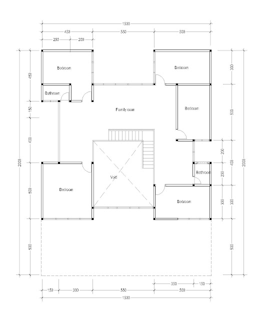 2nd Floor Plan for Plan c-26a