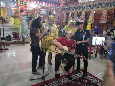 Silaturahim Ala Kaka dan Bimbim Slank di Kediaman Dang Ike Edwin