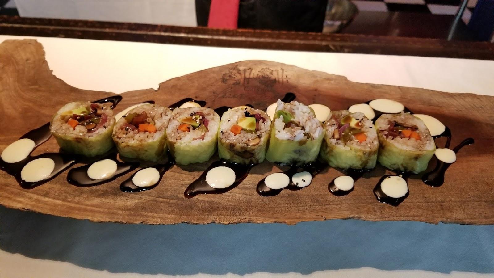 Sushi Shushi vegetarian vegan House of Food Porn