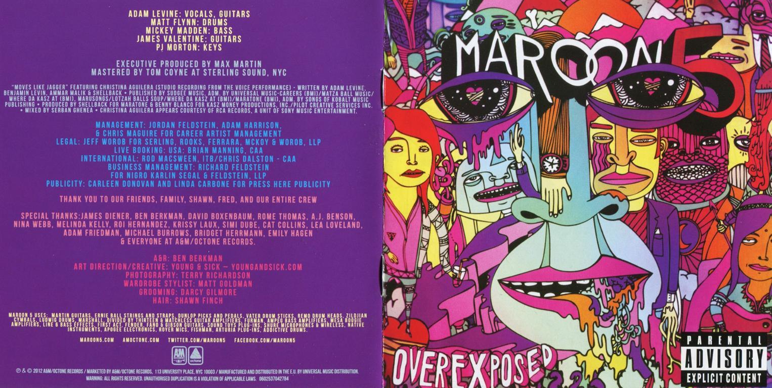 Maroon 5 Overexposed Deluxe Edition Download Zip ...