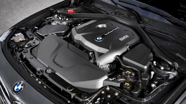 2017 BMW 330i Automatic Engine