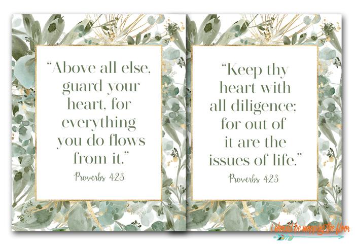 Proverbs 4:23 PDF