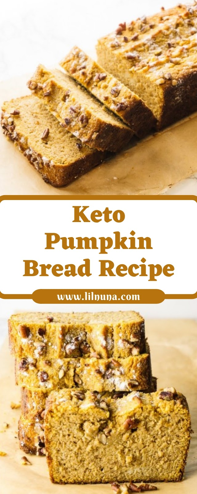 Keto Pumpkin Bread Recipe