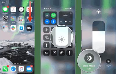 تفعيل الوضع الليلي في الواتساب للايفون والايباد   Dark Mode whatsapp 2020