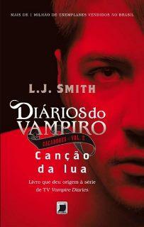 Livro Diários do vampiro: Caçadores – Canção da Lua Vol.2 (L. J. Smith)