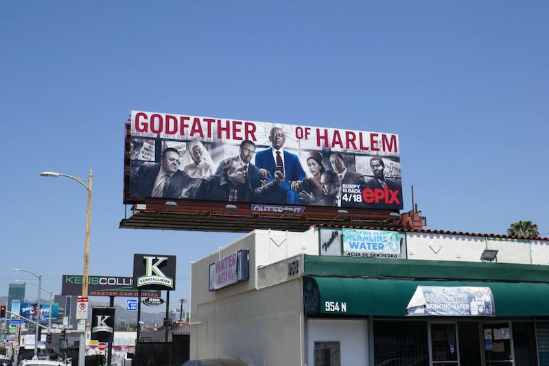 Godfather of Harlem season 2 billboard