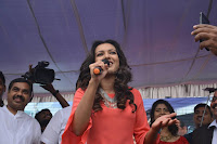 Catherine Tresa in Orange Kurti top and Plazzo at Launches B New MobileStore at Kurnool 10.08.2017 034.JPG