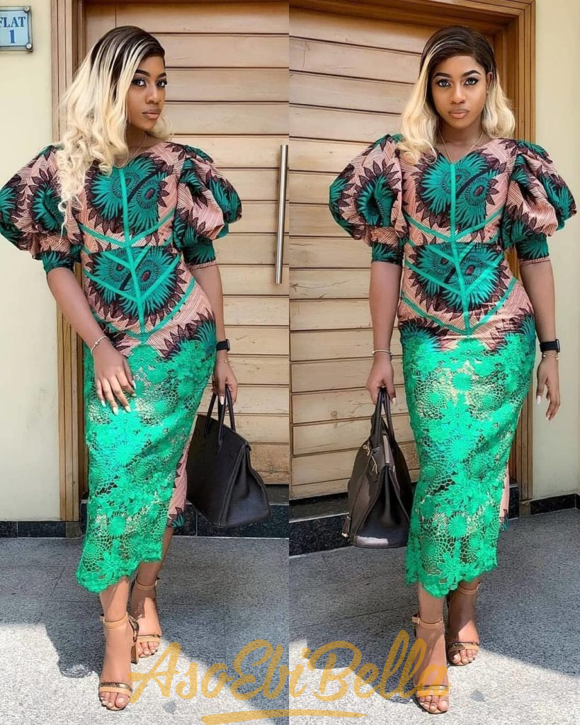 #EbFabLook Vol 47: Try This New Ladies Aso-Ebi Style Worn From 2nd-10th March 2019