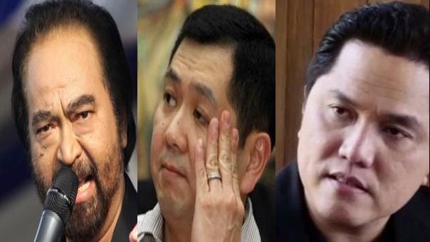 Tim Prabowo Sebut Surya Paloh, HT dan Erick Thohir Gunakan Media untuk Kampanye 01