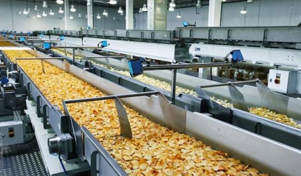 Manufacturing of potato snacks