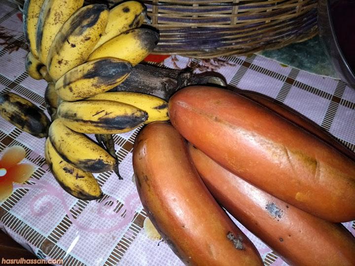 Khasiat Hebat Pisang Merah (Red Banana)