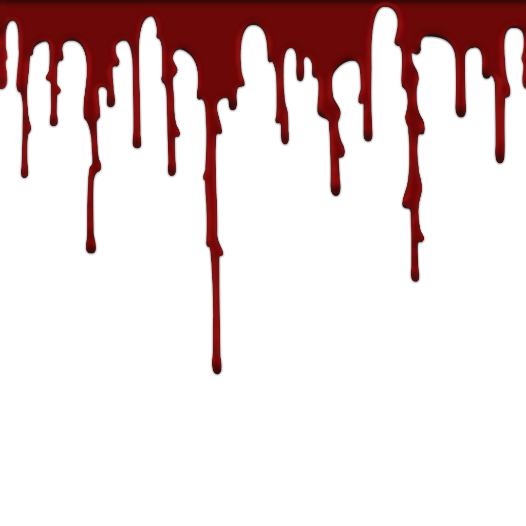 dripping blood clipart border free - photo #14