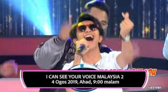 Tetamu Undangan I Can See Your Voice Malaysia 2019 Minggu 7