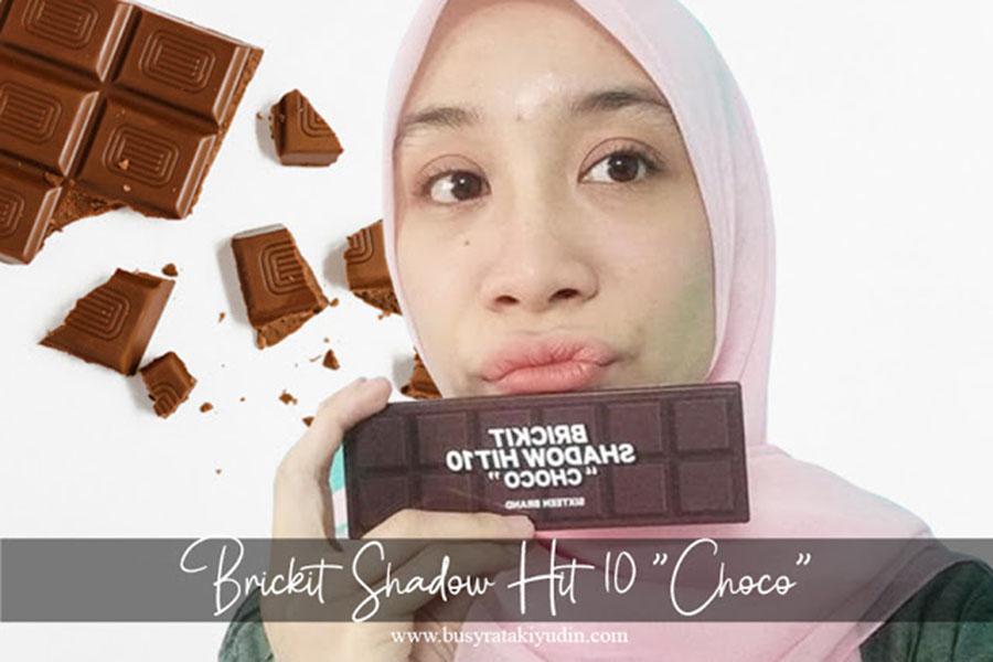 eyeshadow, sixteen brand, brickit shadow hit 10 choco, pigmented, creamy,