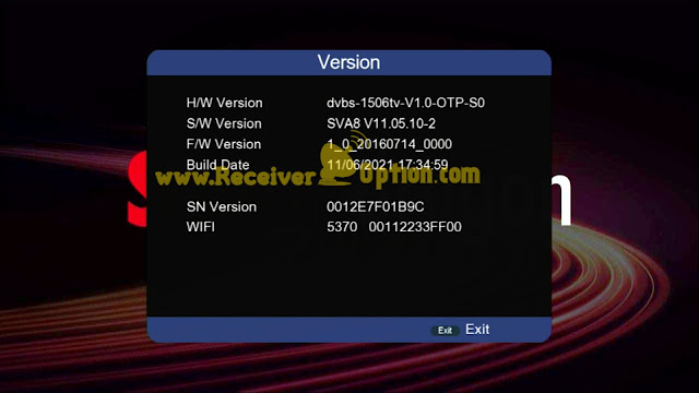 SUPER DRAGON 1506TV 512M 4M NEW SOFTWARE WITH GO SAT PLUS V2 & G SHARE PLUS V2 OPTION 11 JUNE 2021