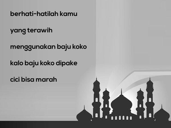 Gambar Kata Mutiara Islami versi Pepatah dan Petuah Lucu 9