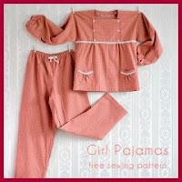 Patrón pijama de niña