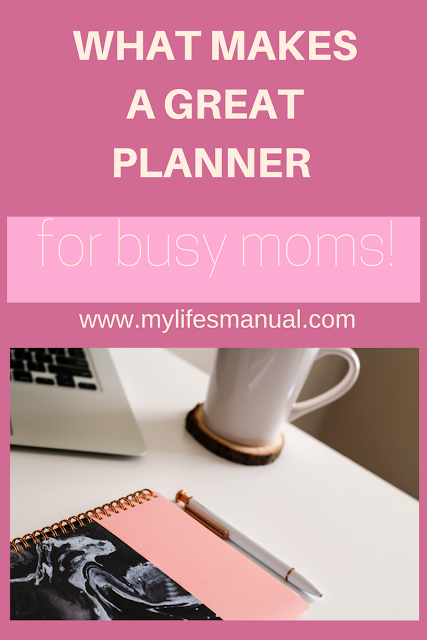 personal planner for busy moms