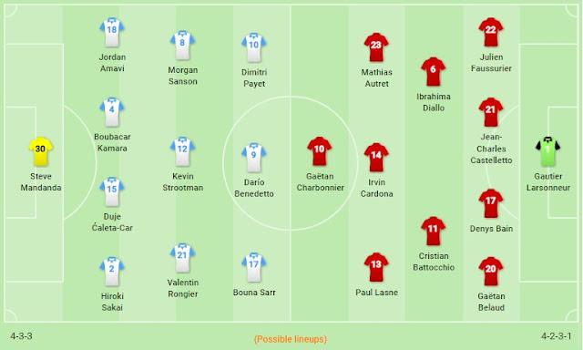 Prediksi Marseille vs Brest — 30 November 2019