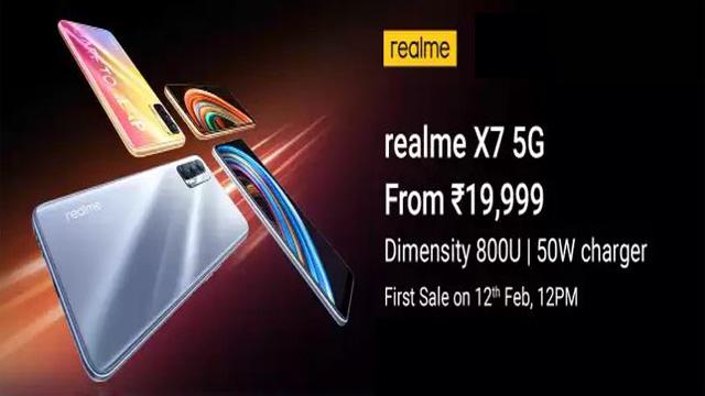 Realme X7 Price in India, Launch Updates, Specs
