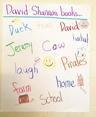 David Shannon books chart