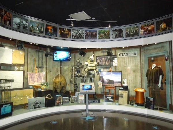 Universal Studios Hollywood costume prop archive exhibit
