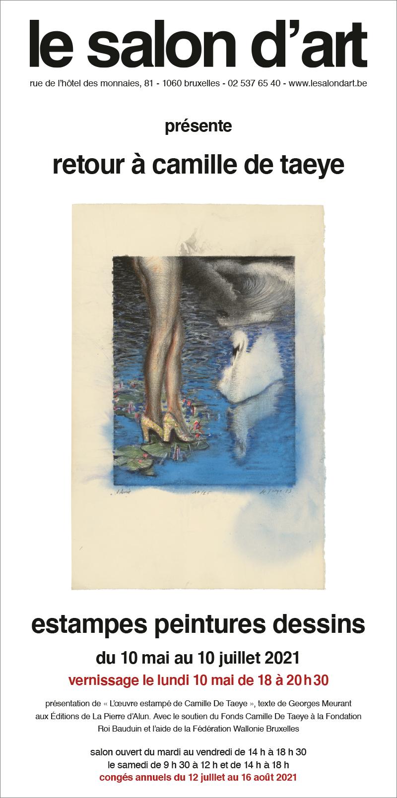 camille de taeye estampes, peintures et dessins