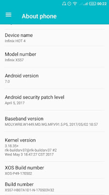 Infinix-Nougat-Update-screenshot