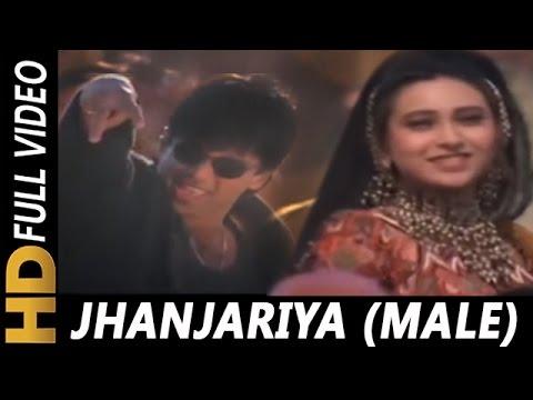 Jhanjhariya Lyrics Krishna | Abhijeet | Sunil Shetty X Karisma Kapoor